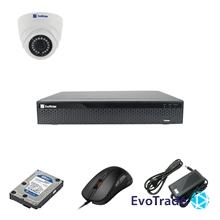 EvoVizion 1DOME-100-LITE + HDD 1 Тб - Комплект видеонаблюдения на 1 камеру
