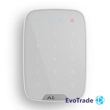 Беспроводная сенсорная клавиатура Ajax KeyPad EU White