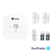 Зображення Комплект беспроводной сигнализации EvoLogic GSS 014 + 1 DD