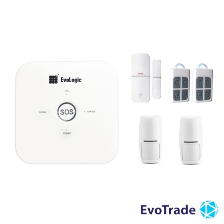 Зображення Комплект беспроводной сигнализации EvoLogic GSS 014 + 1 PIR