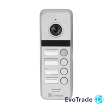 Вызывная панель EvoVizion DP-06/4 Silver