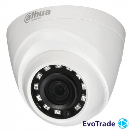 HDCVI видеокамера Dahua DH-HAC-HDW1000RP-S3 (2.8 мм)