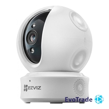1 Мп поворотная Wi-Fi  видеокамера EZVIZ Hikvision CS-CV246-A0-3B1WFR