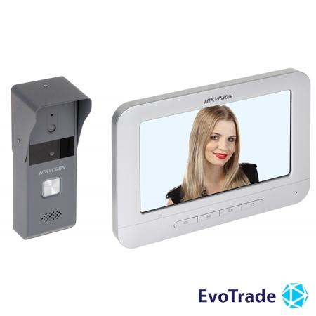 Комплект домофон + вызывная панель Hikvision DS-KIS203