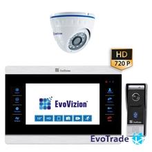 Комплект домофона EvoVizion VP-1008AHD + DP-05AHD cam