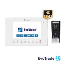 EvoVizion VP-706AHD White + DP-05AHD - комплект домофона
