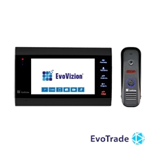 Комплект домофона EvoVizion VP-701 Black + DP-04