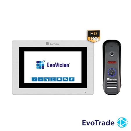 Комплект домофона EvoVizion VP-713TS AHD + DP-04
