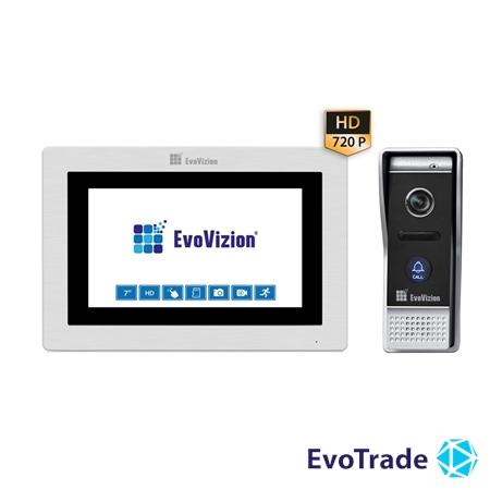 Комплект домофона EvoVizion VP-713TS AHD + DP-05AHD