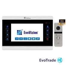 Комплект домофона EvoVizion VP-708AHD + DP-06AHD