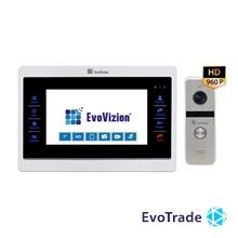 Комплект домофона EvoVizion VP-707AHD + DP-06AHD