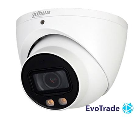 Зображення 2 Мп Full-color Starlight HDCVI видеокамера Dahua DH-HAC-HDW2249TP-A-LED (3,6 мм)