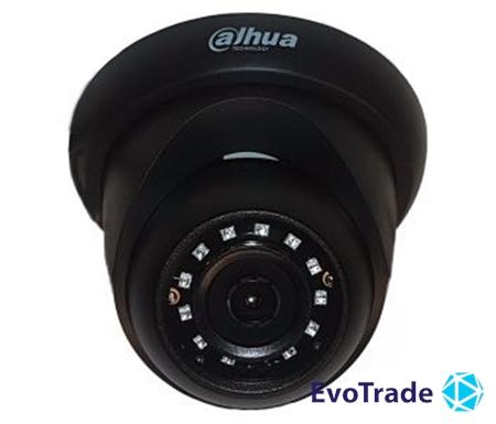 Зображення 2 Мп HDCVI видеокамера Dahua DH-HAC-HDW1200RP-BE (2.8 мм)