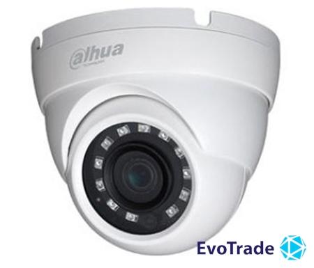 Зображення 4K HDCVI видеокамера Dahua DH-HAC-HDW1801MP (2.8 мм)