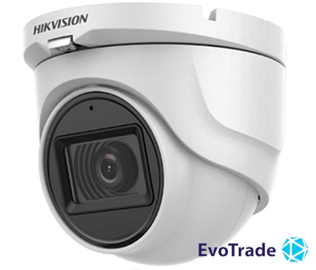 Изображение 2Мп Turbo HD видеокамера с встроенным микрофоном Hikvision DS-2CE76D0T-ITMFS