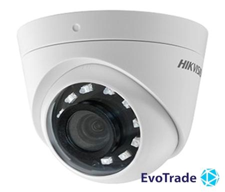 Зображення 2Мп Turbo HD видеокамера с встроенным Балуном Hikvision DS-2CE56D0T-I2PFB (2.8 мм)