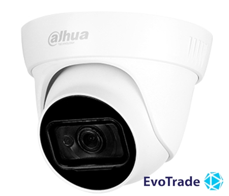 Зображення 4 Мп HDCVI видеокамера Dahua DH-HAC-HDW1400TLP-A (2.8 мм)