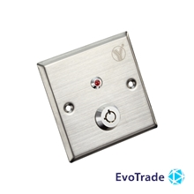 Кнопка выхода c ключом Yli Electronic YKS-850LM