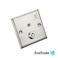 Кнопка выхода c ключом Yli Electronic YKS-850LS
