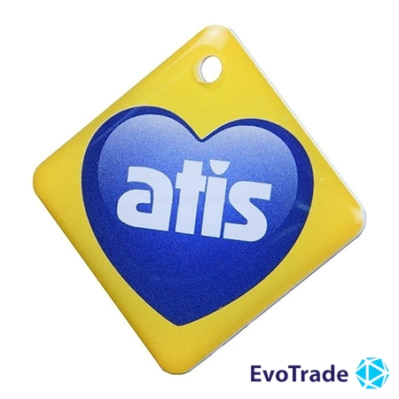 Брелок Atis RFID KEYFOB EM RW Heart