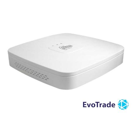 Зображення 4-канальный Smart 4K NVR c PoE коммутатором на 4 порта  DHI-NVR2104-P-4KS2