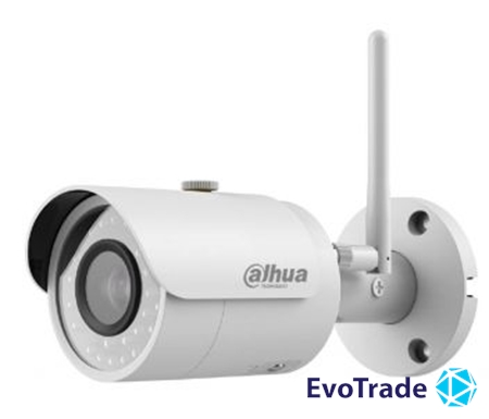 Зображення 1.3МП IP видеокамера Dahua с Wi-Fi модулем Dahua DH-IPC-HFW1120S-W (3.6мм)