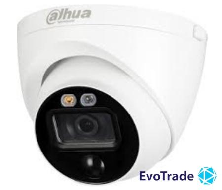 Зображення 5MP HDCVI камера активного  реагирования Dahua DH-HAC-ME1500EP-LED 2.8mm