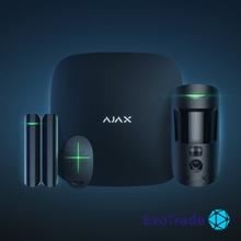 Зображення Комплект беспроводной сигнализации Ajax StarterKit Cam