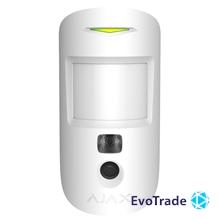 Беспроводной датчик движения с фотофиксацией Ajax MotionCam White