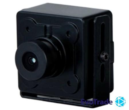 Зображення 2 Мп Starlight HDCVI миниатюрная видеокамера Dahua DH-HAC-HUM3201BP-B (2.8мм)