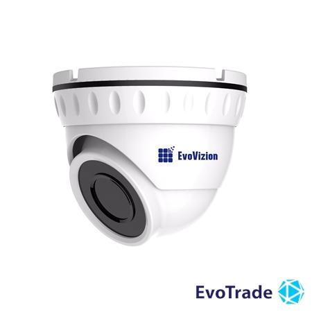 Проводная купольная монофокальная AHD камера EvoVizion AHD-628-240-M