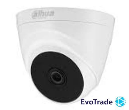 Зображення 2 Мп HDCVI видеокамера Dahua DH-HAC-T1A21P (3.6мм)