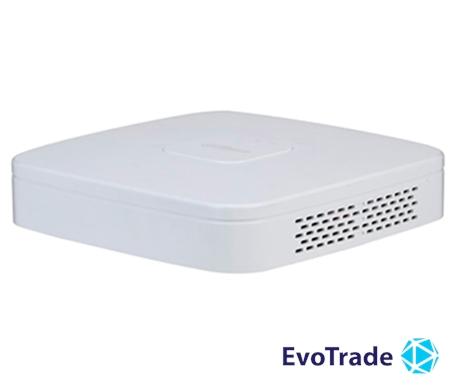 Зображення 8-канальный Smart 4K NVR c PoE коммутатором на 8 портов Dahua DHI-NVR4108-8P-4KS2/L
