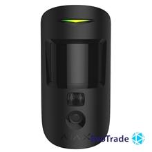 Изображение Ajax MotionCam Black Беспроводной датчик движения с фотофиксацией