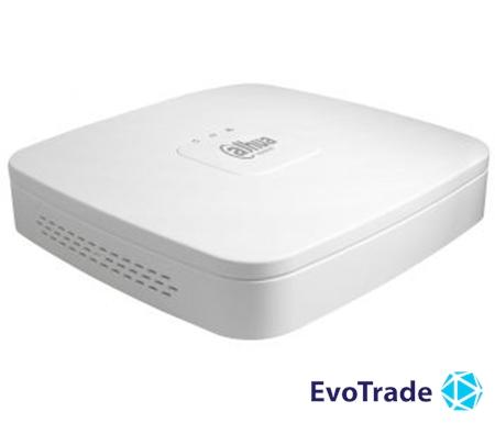 Зображення 4-канальный Smart NVR c PoE коммутатором на 4 порта Dahua DH-NVR1A04-4P