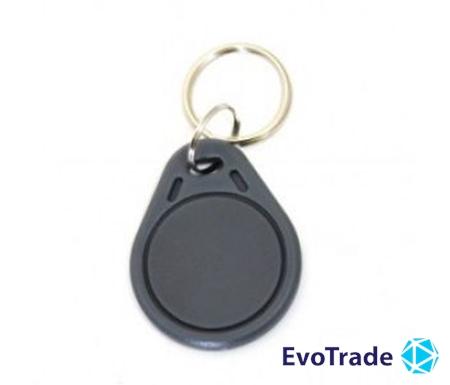 Зображення RFID брелок Viatec RFID KEYFOB EM RW-Grey
