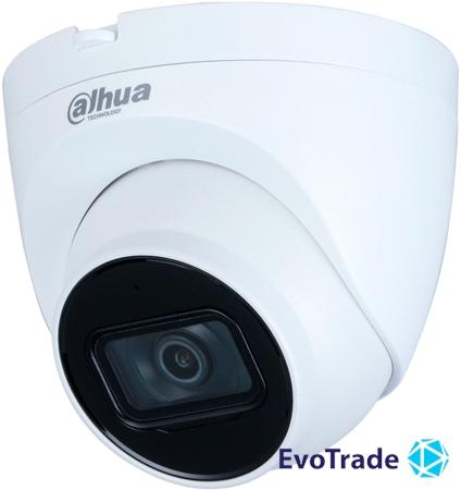 Изображение 2Mп черная IP видеокамера с встроенным микрофоном Dahua DH-IPC-HDW2230TP-AS-BE (2.8мм)