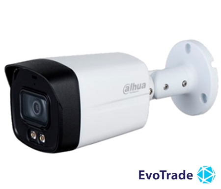 Изображение 2Мп HDCVI видеокамера Dahua с LED подсветкой Dahua DH-HAC-HFW1239TLMP-A-LED (3.6 мм)