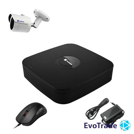 Комплект видеонаблюдения на 1 камеру EvoVizion N9 IP-1OUT-240