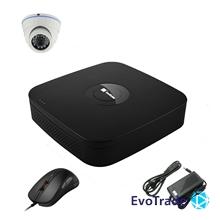 Комплект видеонаблюдения на 1 камеру EvoVizion N9 IP-1DOME-M-130