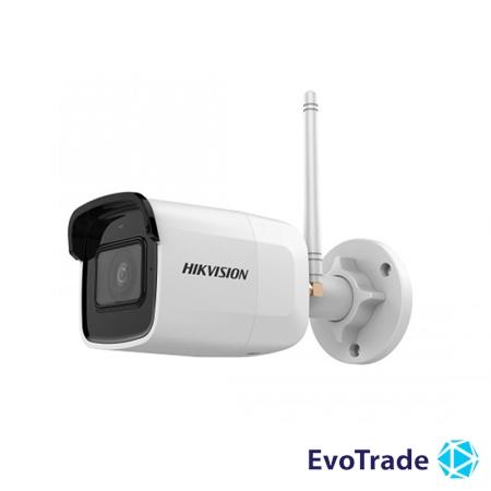 Изображение 4 Мп IP видеокамера Hikvision c Wi-Fi Hikvision DS-2CD2041G1-IDW1(D) (2.8 мм)