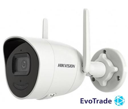 Изображение 4Мп IP видеокамера Hikvision Wi-Fi модулем Hikvision DS-2CV2041G2-IDW(D) (2.8 мм)