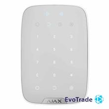 Ajax KeyPad Plus white Беспроводная сенсорная клавиатура